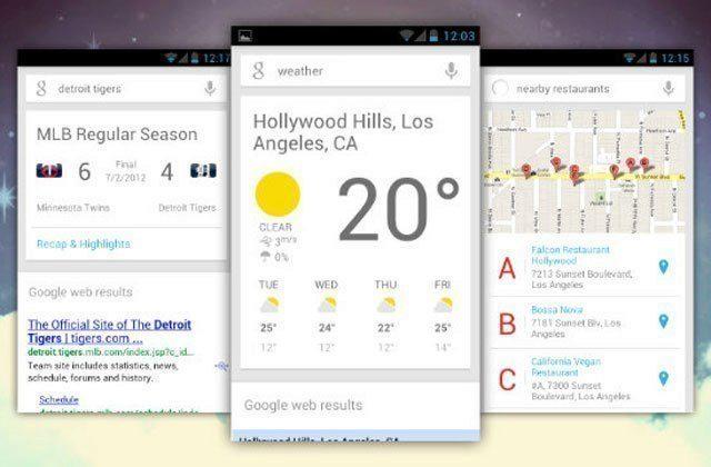 Aktivujte si experimentální karty v Google Now