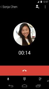 Aplikace Vytáčení pro Hangouts