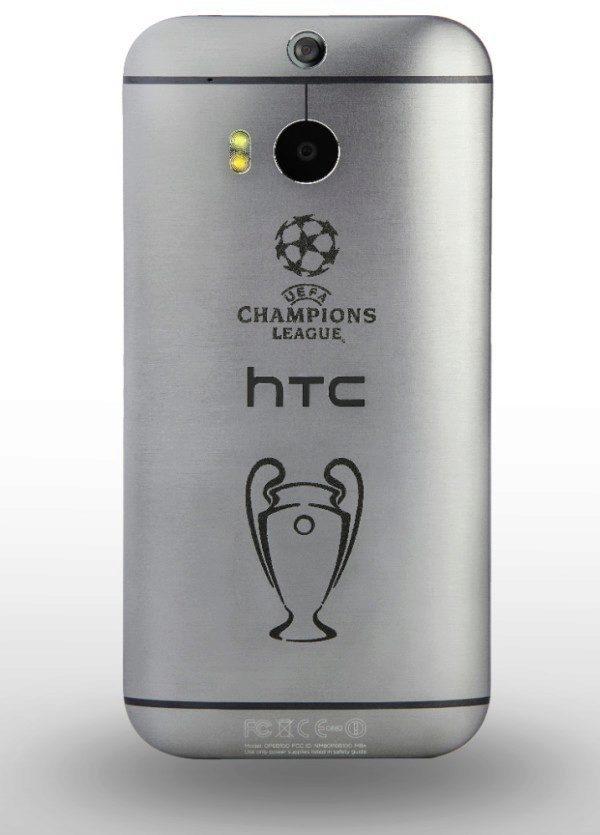 HTC One M8 UEFA ligy mistrů
