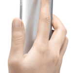 Huawei Ascend Mate7_Single_Gray Back Face Hand_Hi res