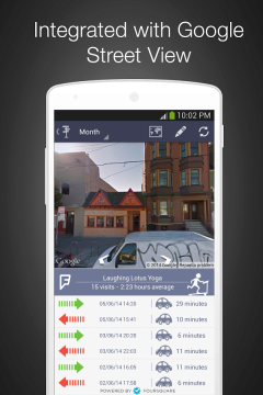 Integrace s Google Street View
