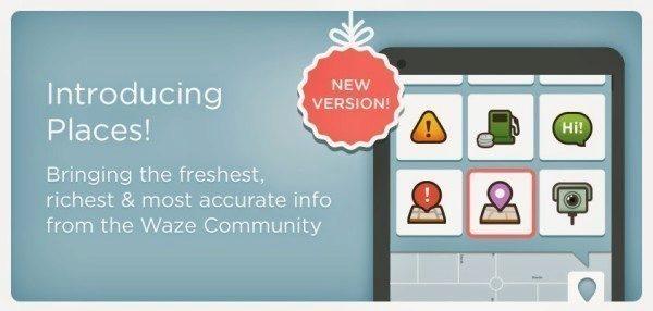 Aktualizace navigace Waze přinesla řadu nových funkcí, včetně přidávání míst