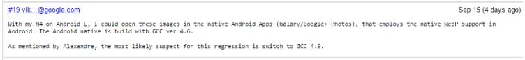 Zaměstnanci Google posílali příspěvky z Nexusu 4 s operačním systémem Android L