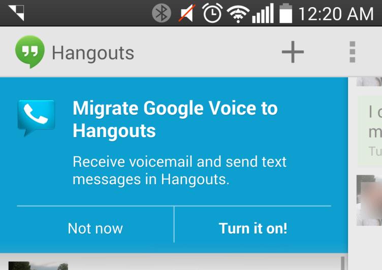 Uživatelům je spojení obou služeb nabízeno při spuštění aplikace