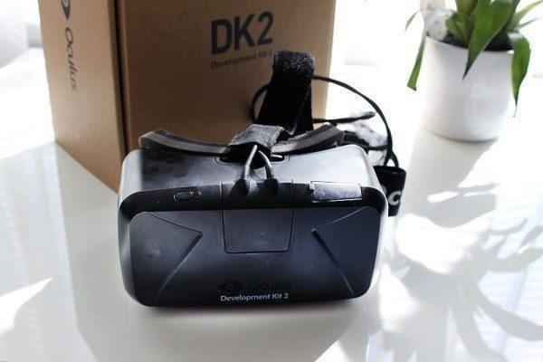 Oculus Rift Development Kit 2 celkový pohled