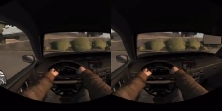 Oculus Rift Development Kit 2 GTA 4