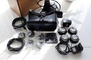 Oculus Rift Development Kit 2 obsah balení