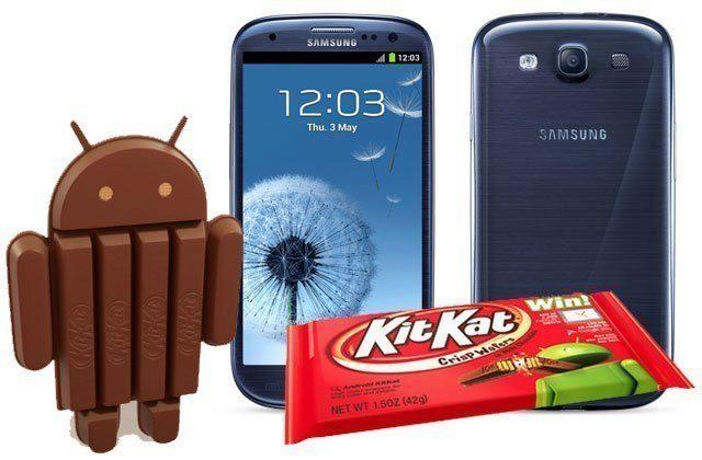 Galaxy S3 dostává Android 4.4.4 KitKat portovaný z oficiální korejské aktualizace