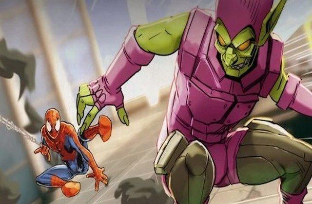 spiderman unlimited hlavni