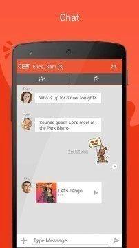 Tango nešifruje přenos souborů mezi uživateli