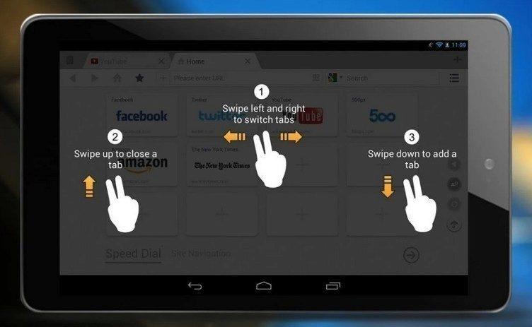 Androidu by prospělo ovládání gesty