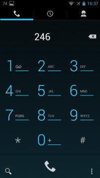 YotaPhone C9660 - Dialer, aplikace vytáčení (1)