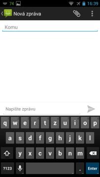 YotaPhone C9660 - klávesnice