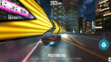 Závody se konají v nočním městě
