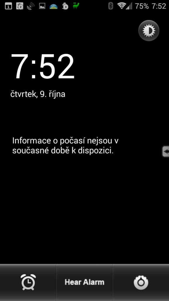 Prostředí aplikace komunikuje v češtině