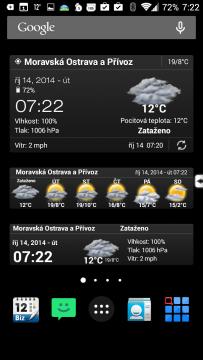 Weather & Clock Widget Android