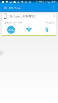 Prostředí aplikace