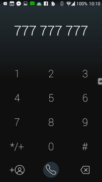 Číselník pro zadávání čísel