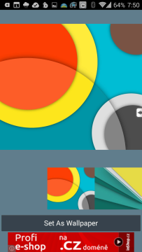Material Wallpapers(Android L)