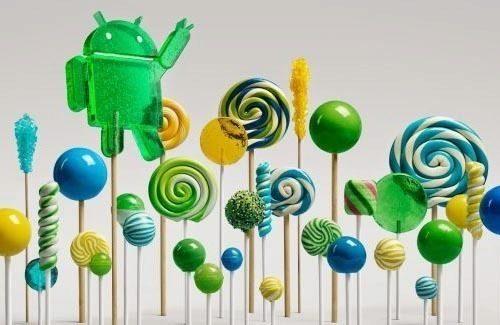 Android 5.0 Lollipop ico