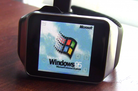 android wear windows 95 cover