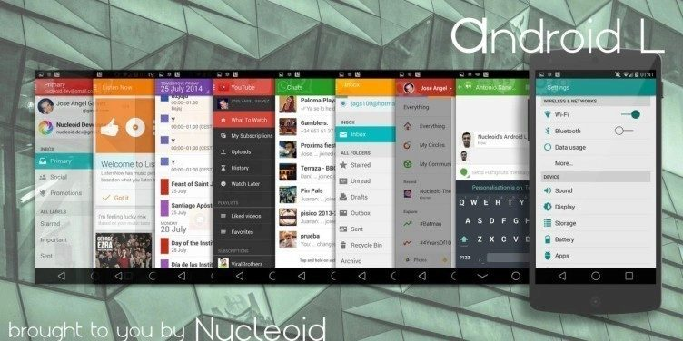 Téma Android L pro CyanogenMod