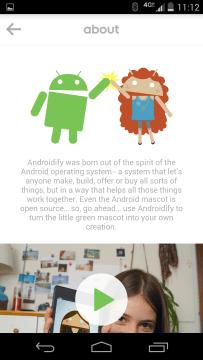 Androidify 2.0 aktualizace 1