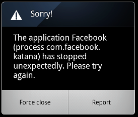 app crash