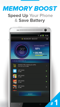Cleaner - Master Speed Booster 1 android aplikace
