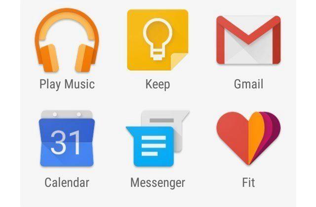 Stáhněte si Google aplikace z nového Androidu 5.0 Lollipop