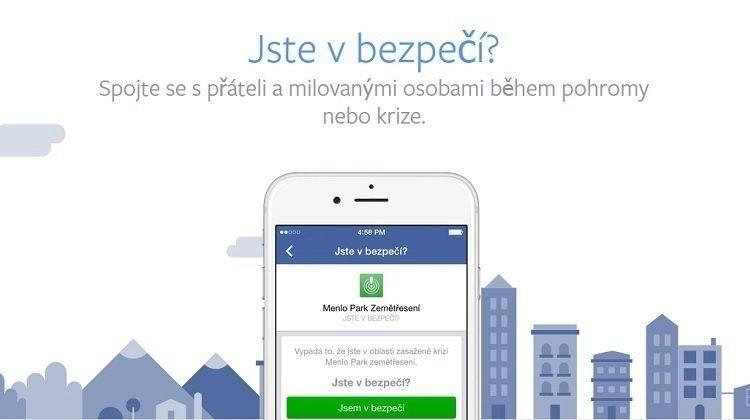 facebook jste v bezpeci