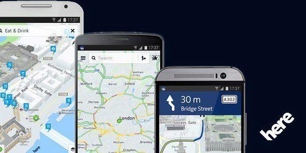 Mapy Nokia Here Beta
