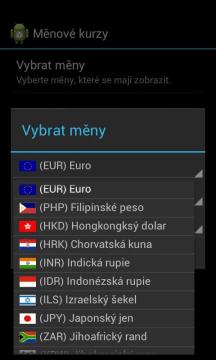 Měnové kurzy