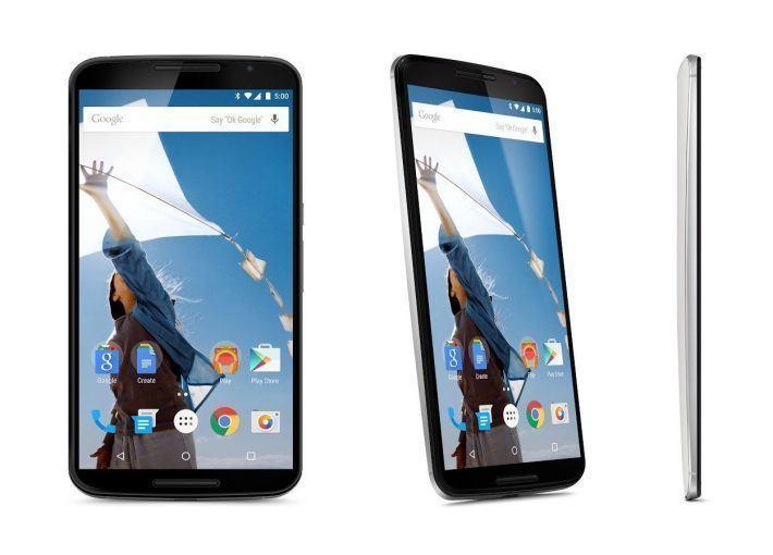Nexus 6 dostupný k předobjednání v Obchodě Google Play