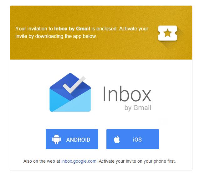 Google rozesílá první (a následně i druhou) vlnu pozvánek do Inboxu