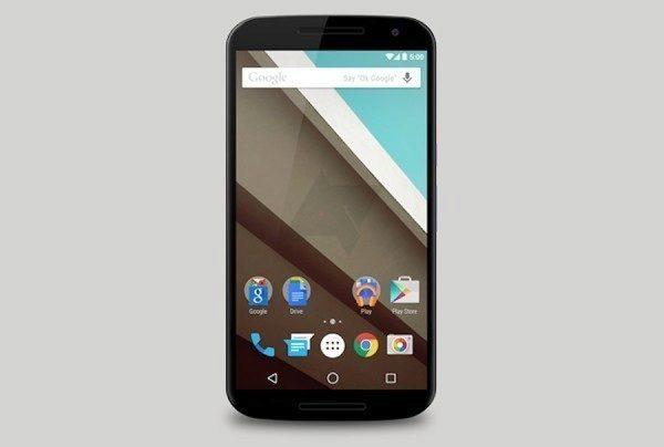 Domovská obrazovka podle představ Googlu na telefonu Nexus 6