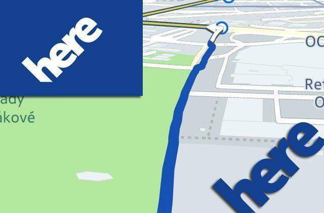 Navigace Nokia HERE (beta) v praktickém testu