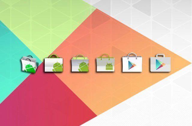 Stáhněte si nový Obchod Google Play 5.0 s modernizovaným vzhledem a ikonou!