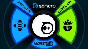 Orbotix Sphero 2.0 aplikace hlavní obrazovka