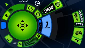 Orbotix Sphero 2.0 aplikace level mód