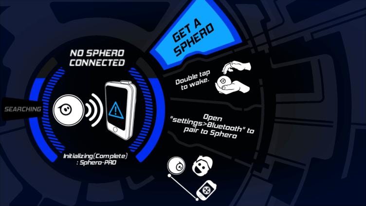 Orbotix Sphero 2.0 aplikace načítání