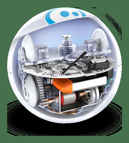 Orbotix Sphero 2.0 vnitřek koule