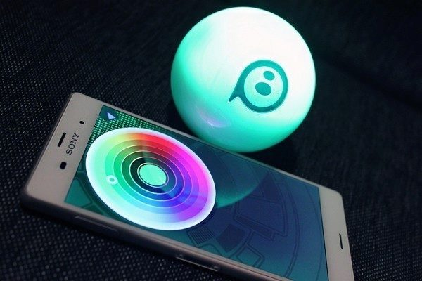 Orbotix Sphero 2.0 změna barvy 1