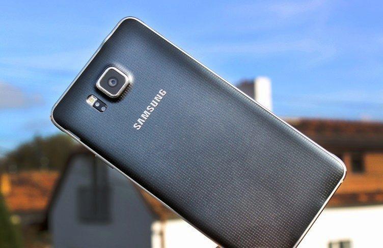 Samsung Galaxy Alpha telefon