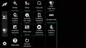 Samsung Galaxy Alpha fotoaparát 3