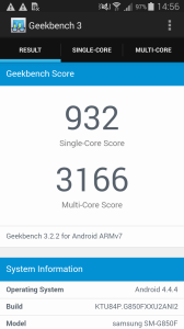 Samsung Galaxy Alpha Geekbench 3 - 1