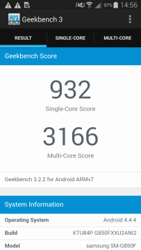 Samsung Galaxy Alpha Geekbench 3 - 1