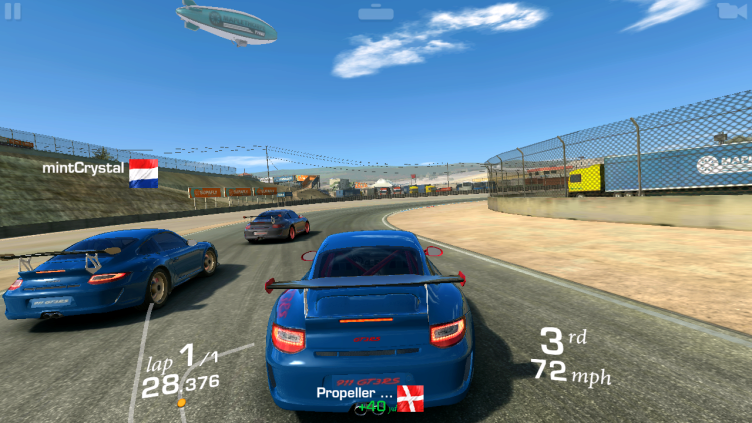 Samsung Galaxy Alpha Real Racing 3