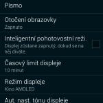 Samsung Galaxy Alpha ukázka prostředí TouchWiz 12
