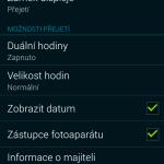 Samsung Galaxy Alpha ukázka prostředí TouchWiz 14